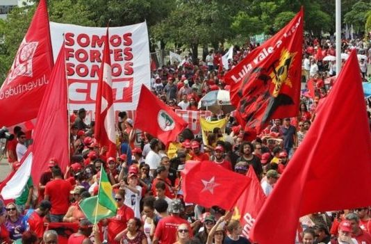 Lula supporters have been staging protests in Porto Alegre